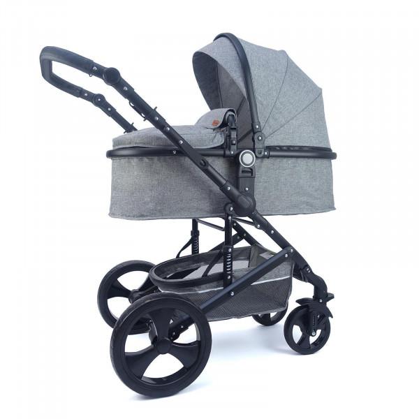 Pixini Kinderwagen Kalani 2in1 grau