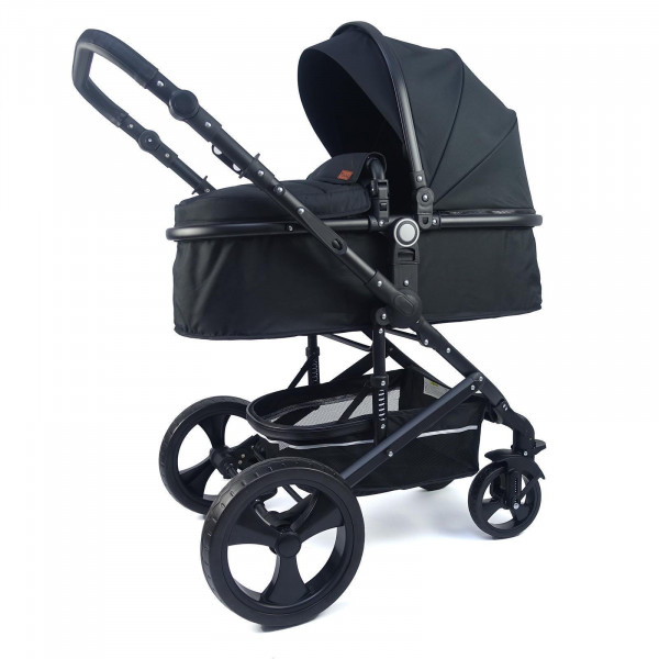 Pixini Kinderwagen Kalani 2in1 Schwarz